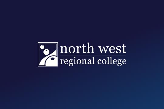 NWRC logo on blue graident background