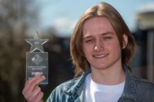 Cole Buchanan, winner in Ad Production.