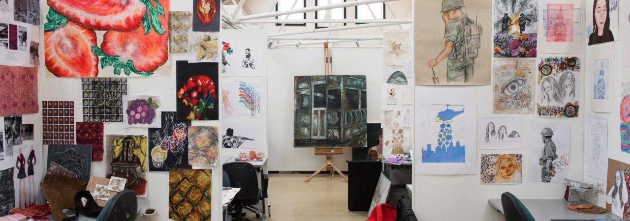 Main st Limavady campus Art Studio