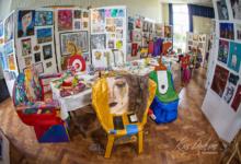 The artists banquet installation 2015 Design Crafts Year 1 Limavady Campus