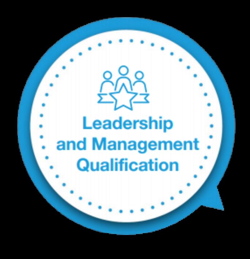 Leadership management logo