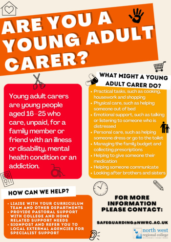Young Adult Carer Poster