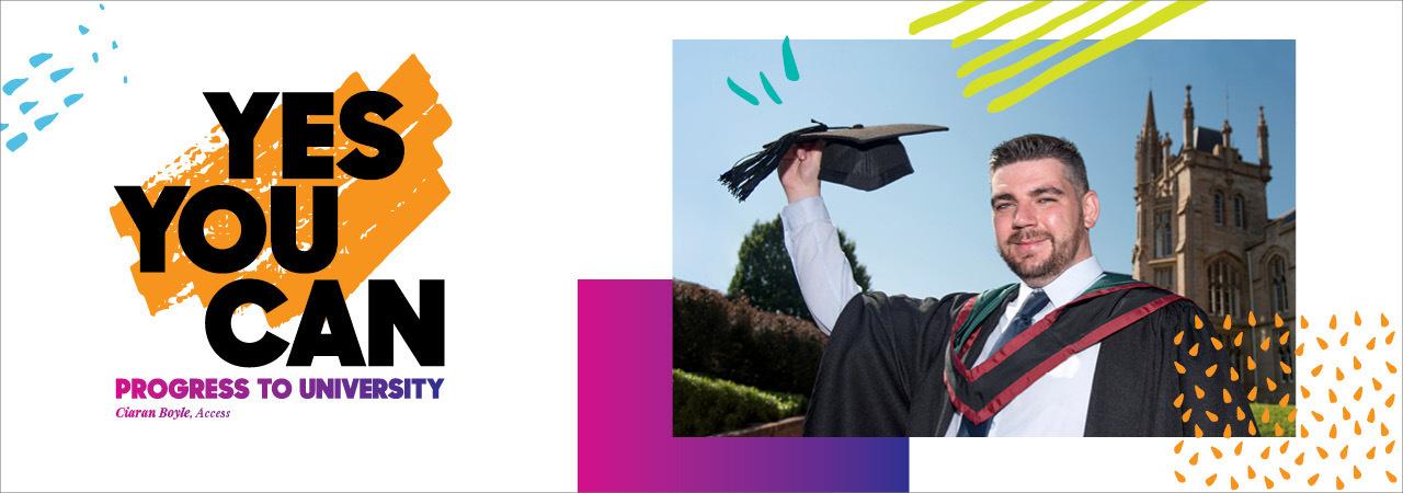 Results day 2021 web banner progress to university