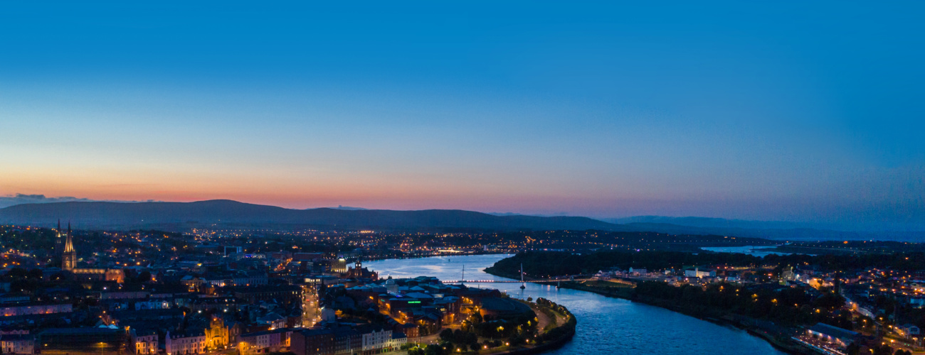 Derry city drone