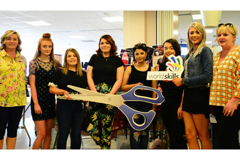Hairdressing students finals jpgweb