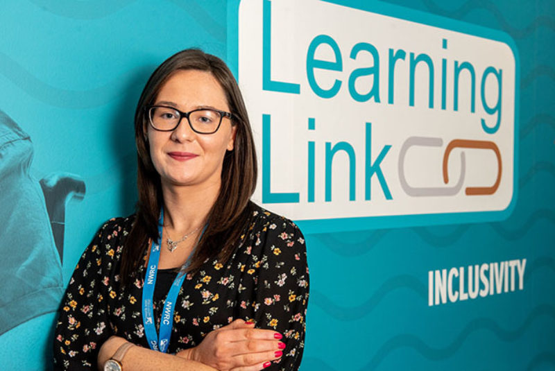 Claire Doherty, NWRC Learning Support Officer