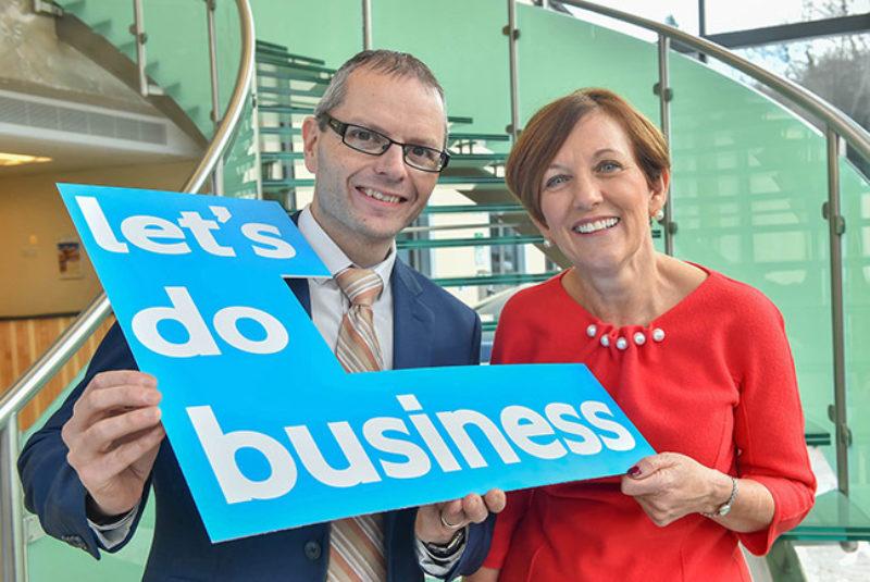 Lets Do Business Fergal Tuffy and Beverly Harrisonnwrcweb