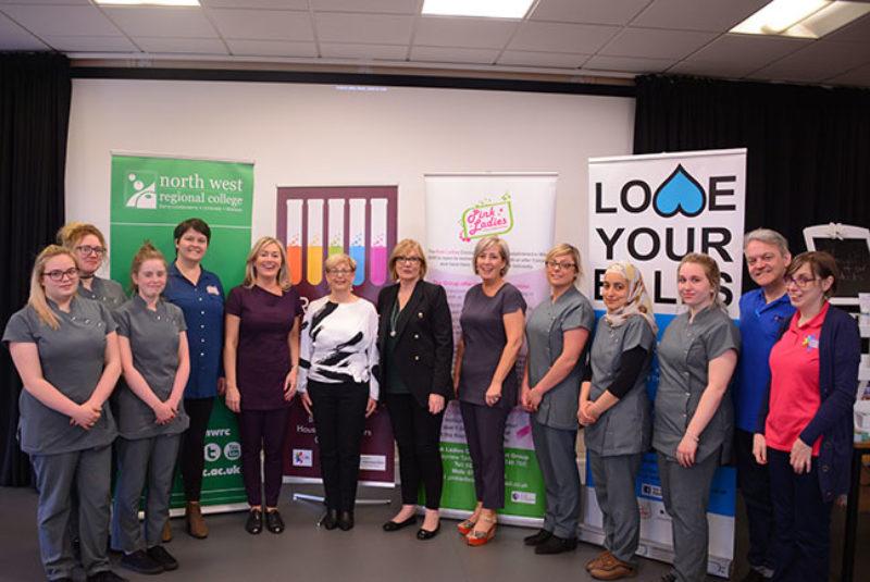Press pic Pink Ladies at NWRC jpgweb
