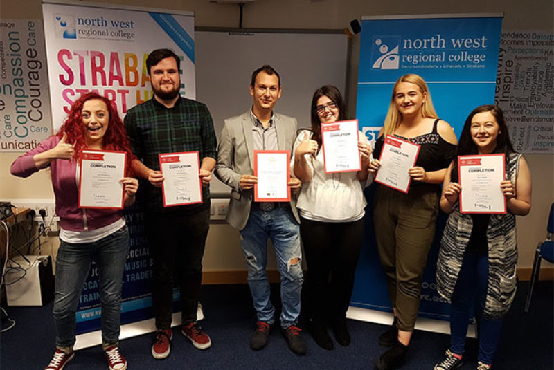 Princes Trust Strabane press nwrcweb