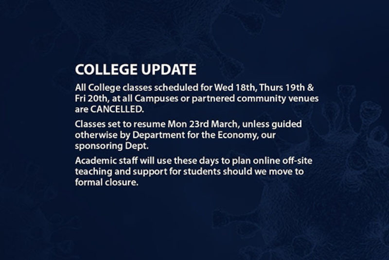 Web classes cancelled 1