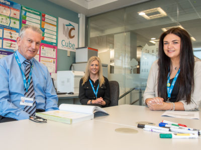 NWRC's Safeguarding team - supporting all students in the college