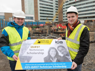 Quest scholarship helping NWRC students build for the future