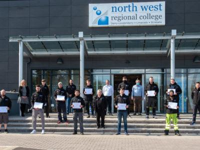 12 Apprentice Welders receive job offers after completing Assured Skills Academy
