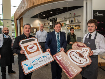 NWRC officially opens 'Barista @ the Foyle' coffee shop - Open to the Public