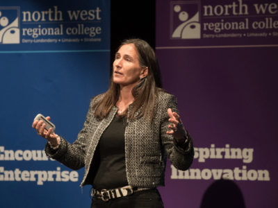 Entrepreneur shares her steps to success at North West Regional College