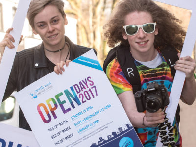 Start at North West Regional College Open Day and you could go anywhere