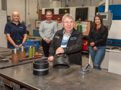NWRC's Welding Lecturer Gerry Burke calls it a day after 40 years