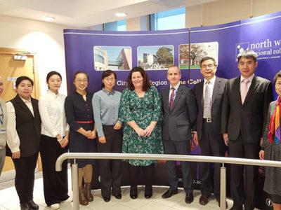 NWRC welcomes visitors from Dalian