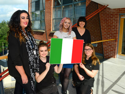 NWRC hairdressers make the cut for Erasmus+ Italian trip